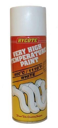 Very High Temperature Paint VHT Hycote White 400ml